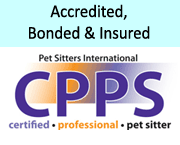 Sunshine Pet Care pet sitters are Certified Professional Pet Sitters